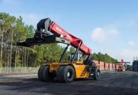 SANY Reach stackers win recognition in Georgia, USA