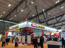 SANY PALFINGER at Changsha International Construction Equipment Exhibition